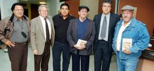 Héctor Sifuentes, Lorenzo de Lira, Juan García, Alejandro Ahumada, Óscar Sánchez y Dagoberto Proo.