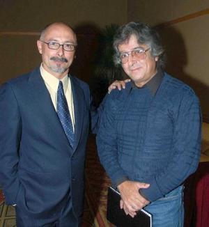Juan Carlos Martínez y Armando Mosiváis