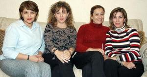 Paty Toraño, Lorena Elósegui, Sonia Chávez, Bere Salazar.