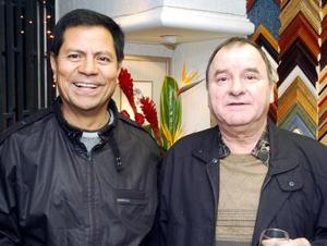 Pbro. José Luis Escamilla y Leopoldo González