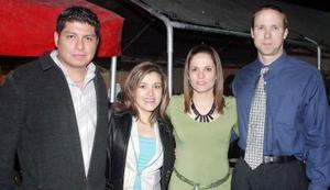 Sergio Ramirez, Laura Martínez, Claudia Martínez, Tom Wickman.