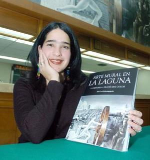 Idoia Leal, autora de libros.