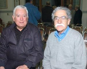 Jesús Sotomayor y Saúl Rosales..