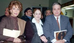 Jossie de Iriarte, Ana Galindo de López y Leopoldo López