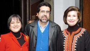 Silvia Csatro de Towns , Juan Antonio Towns y Rosario Lamberta.