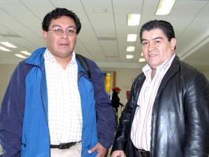 Daniel Guzzi y Jorge González, viajaron a México, DF