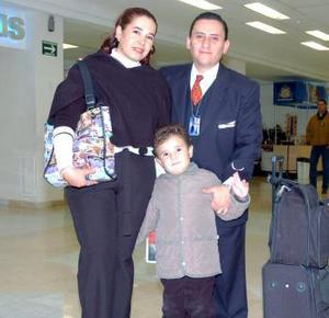 Laida Orozco, Milton Rodrpiguez y Luis Fabián viajaron a México, DF.