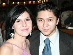 Edna Mendoza y Manuel Morales