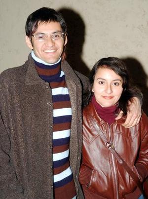 Elías y Mariana Aguero Díaz Durán.