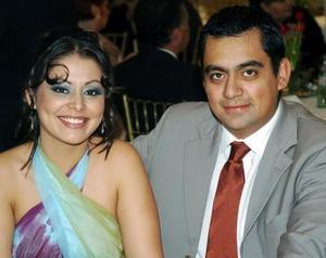 Mariana Ramos y Rafael Arista.