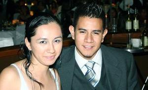 Talía Romero y Jorge Rutiaga.