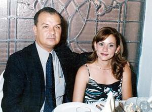 Antonio Urbina  Zeglen y Ana Mireya Martínez de Urbina, en reciente acontecimiento