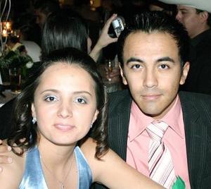 Cinthia López y Juan Castañeda..