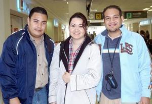 Luis Silva, Nidia Páez y Nico Trejo viajaron a Israel.