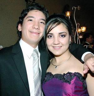 <b>28 de noviembre 2005</b><p> Isaac Mendoza y Lily Leal.