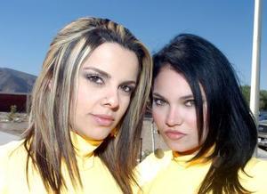 <b>28  noviembre 2005</b><p> Marisol Lomas y Michele Rivas.