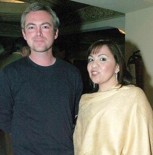 Alfredo Márquez y Elizabeth Moreno.