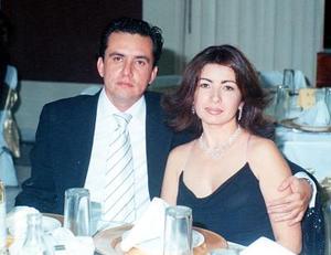 Jesús Máynez Durán y Patricia de Máynez.