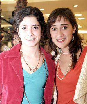 María José Sesma y Mariana Fernández