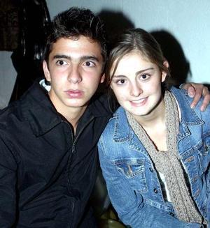 Rafa Fernández y Paulina Teele..