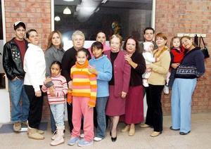 Familia Navarro Spengler y Escalona Vizcaíno.