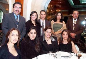 <b>30 de noviembre 2005</b><p>  Verónica Díaz, Cecilia López, Tanya Palacios, Bety López, Gerardo Yassín, Marcela Foglio, José Antonio Romero y José Luis Silva.