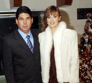 Luis Felipe y Marcela Cantú.