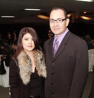 Karime Lee y Ricardo López.