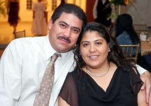 <b>29 de noviembre 2005</b><p> Sergio Tapia y Elvira López.
