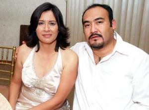 Margarita Ojeda y Luis Arellano.