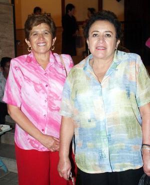 Elba y Alicia Manzanera.
