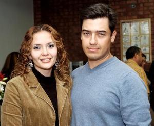 Lupita Ugalde y Gerardo Peña.