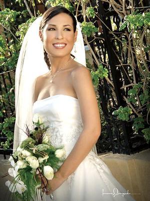 Srita. Perla Villarreal  Gutiérrez, el día de su enlace nupcial con el Sr. Héctor Silva Castro..jpg