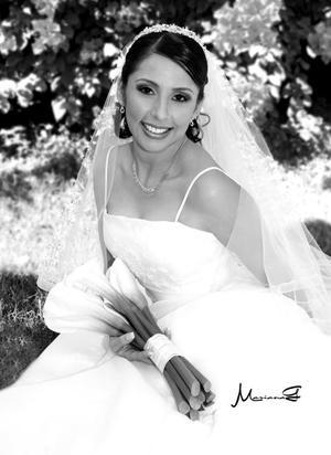 Srita. Nancy Araceli Fraire López el día de su enlace nupcial con el Sr. José Olvera Falcón.