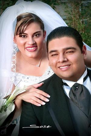 Sr. Gerardo Gutiérrez Pereyra y Srita. Cecilia Moreno Alonzo contrajeron matrimonio religioso  el sábado 15 de octubre de 2005.