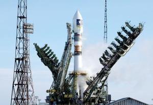 Lanzado desde la base kazaka de Baikonur a bordo de un cohete ruso Soyuz, el satélite de pruebas abrirá el camino a la flota de 30 aparatos que configurarán en 2010 el sistema de navegación europeo.