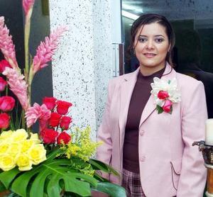 de_05022006  Mayra Dayana Ramírez Ramos captada en la despedida de soltera que le ofrecieron sus familiares