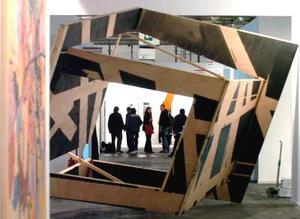 Obra de Manu Muniategiamdikoetxea, de la galería espacio mínimo de Madrid.