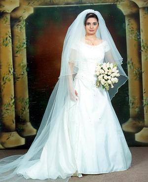 Dra. Patricia Arreola Ríos, el día de su enlace matrimonial con el Dr. Horacio Ambriz Padilla