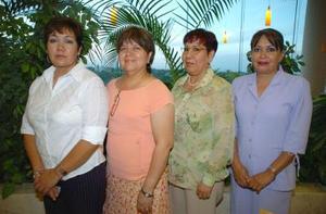 02052006 Rita Serna, Alicia de Reyes, maría Elena Rodríguez y Gloria García