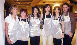05052006  Estela de Obeso, Claudia González de Valdez, Claudia de Rebollo, Leticia de Izaguirre, Eréndira de Hernández y Yolanda de Murra.