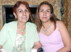 06052006  Rosy Alanís y Pilar Martínez