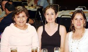 07062006  Carmina Llavona, Adriana Porras e Ivonne Leija.