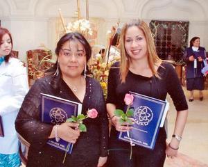 07062006  Sandra Reza y Michell Cruz Adame.
