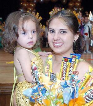 10052006  Viridiana Olivares y Gretel Barajas.