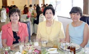 12052006  Patricia Moreno de Puente, Esther González Navarro y María Alejandra Soto.