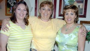 13052006  Claudia, Paty y Bere Gutiérrez