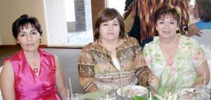 13052006   Josefina de Ayup, Rita de Estrada y Blanca de Orozco