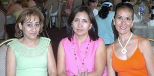 14052006  Ángeles Madrazo, Martha Hernández y Rocío Muñoz.