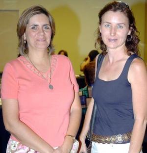 14052006  Elena de la Mora de Martínez y Verónica de la Garza de Cruz.